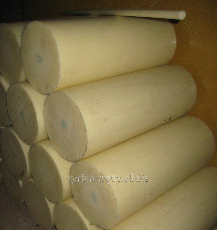 Капролактам н д. 330 мм, стержень, круг, болванка длиной до 1300 мм