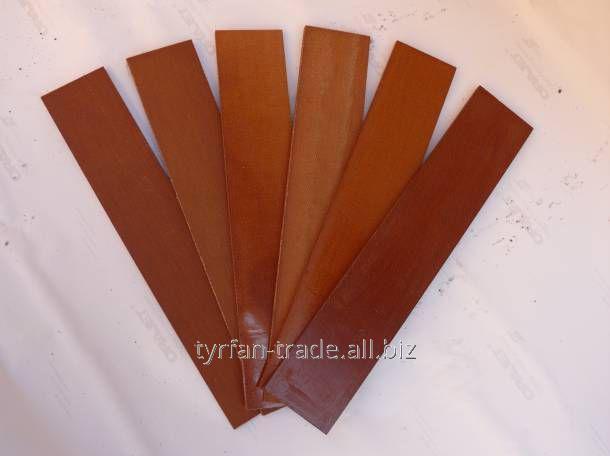 Купить Лопатка текстолитовая калёная для насоса ВР8/2,5 5х46,5х373,5мм