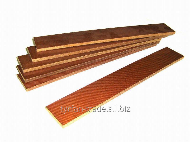 Купить Лопатка текстолитовая калёная для насоса НВПР-240 6х43х270мм