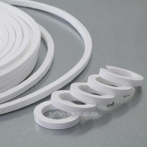 Плетеная набивка из птфэ/химически стойкая/для химической промышленности/для клапана