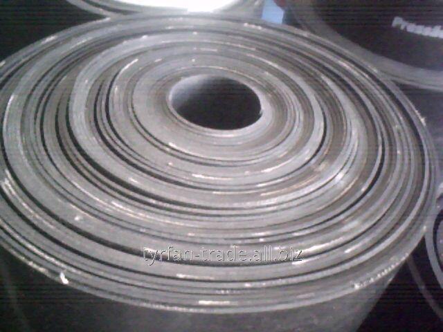 Пластина резинотканевая кордовая толщиной до 40 мм