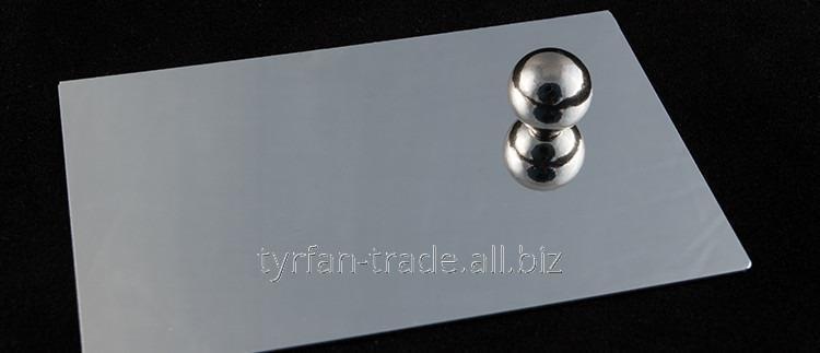 Купить Зеркальный анодированный алюминий под серебро