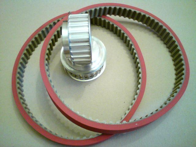 Ремни зубчатые  для упаковочных машин с наваркой Linatex