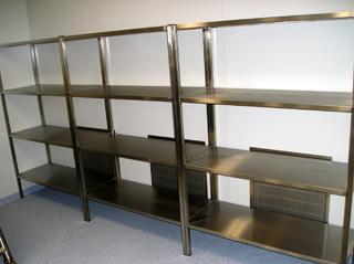 Стеллаж кухоный 2400х500х1800 5 полок
