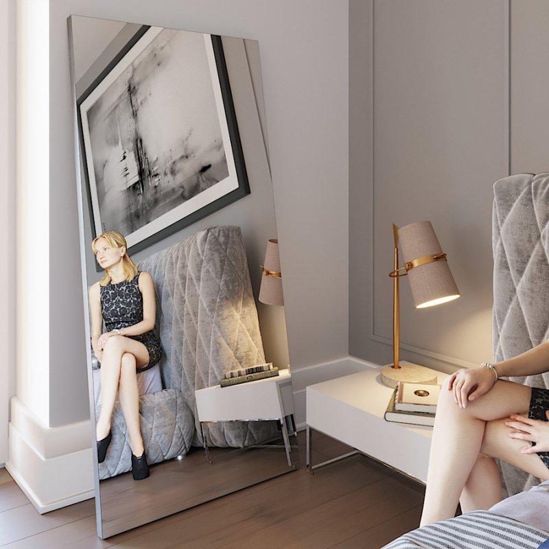 Напольное зеркало Fenster Версаль ильм 179x79x3,2