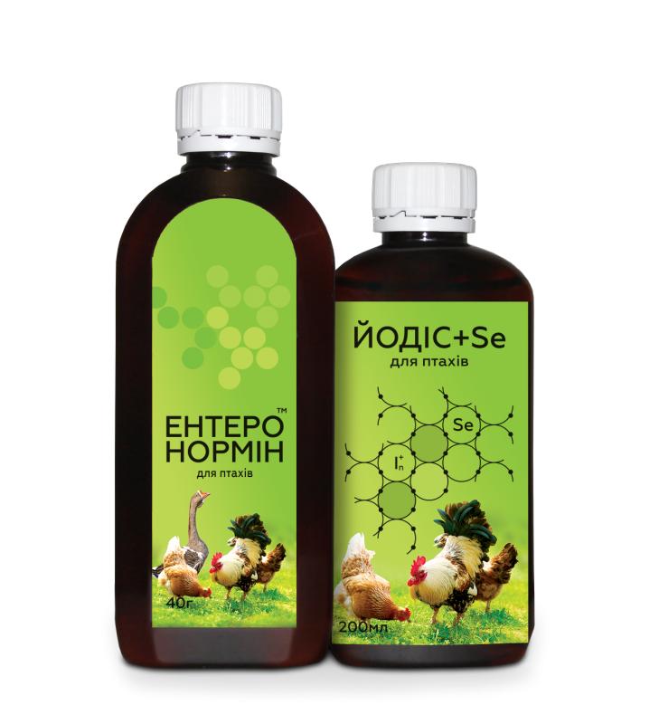 Купить Синбиотик Энтеронормин в птицеводстве 40г+200мл