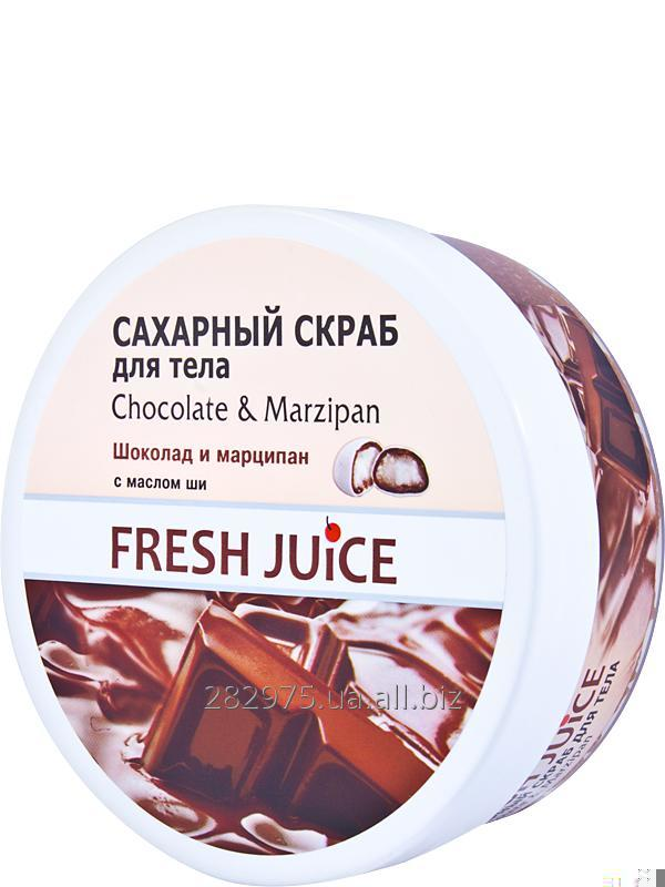 Buy Body Sugar scrub Fresh Juice Chocolate & Marzipan 225 ml