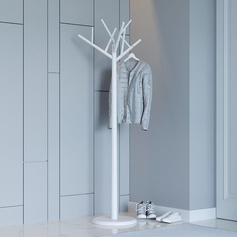 Вешалка деревянная Fenster Феникс белый