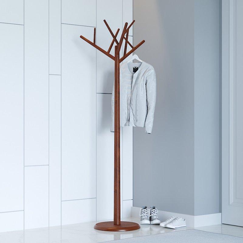 Вешалка деревянная Fenster Феникс коричневый