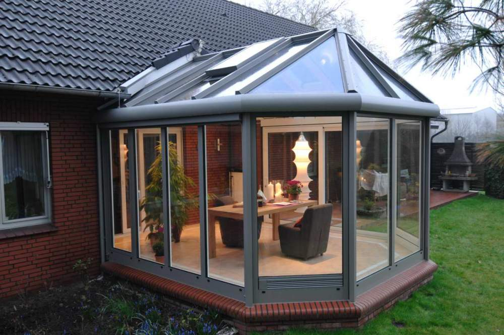 Buy Individual design, production and installation of winter gardens of any complexity