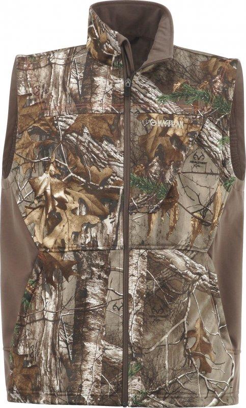 Жилет для охоты демисезонный Magellan Outdoors Men's Mesa Softshell Vest