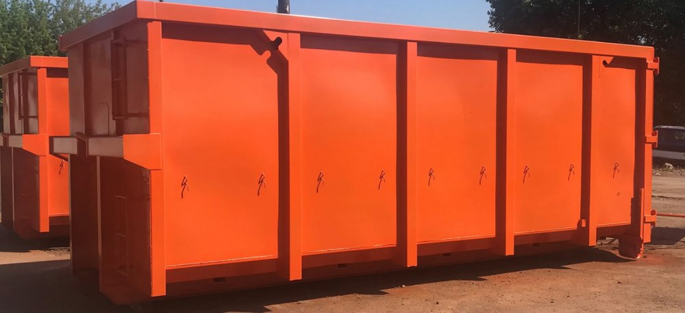 For bulky waste container