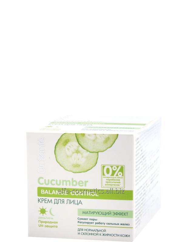 Buy Face cream with a matte effect Dr. Sante Cucumber Balance 50 ml
