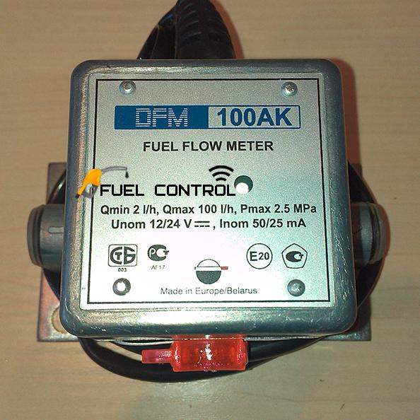 Датчик расхода топлива DFM 100 AK