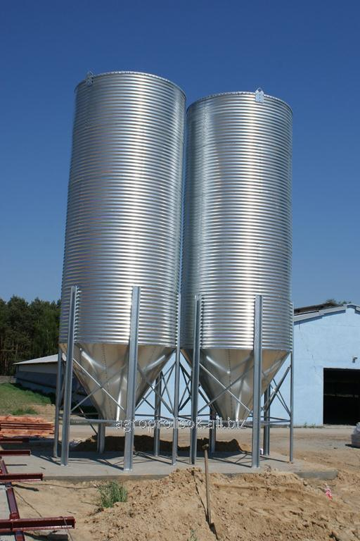 Бункер для кормов 20 т, 30,7 м3