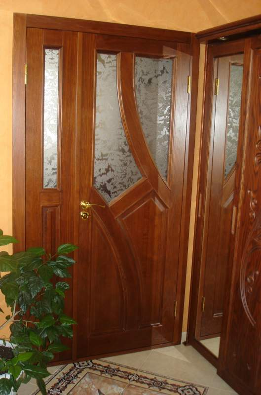 входная дверь в подъезд в ступино
