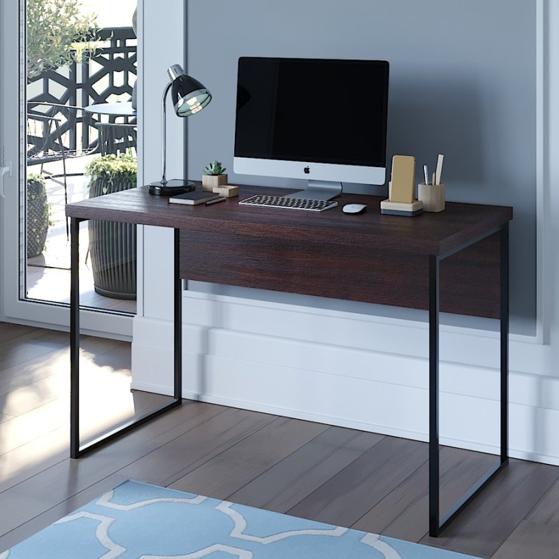 Компьютерный стол Fenster Вега 2 Коричневый 75,5x120x60,5