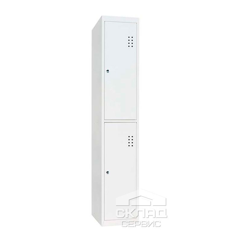 Buy Sectional cabinet cloakrooms SHO-400 / 1-2 (1800x400x500 mm)