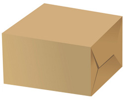 Коробки из мелованного картона