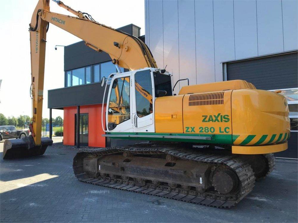 Гусеничный экскаватор Hitachi ZAXIS 280 Longreach.