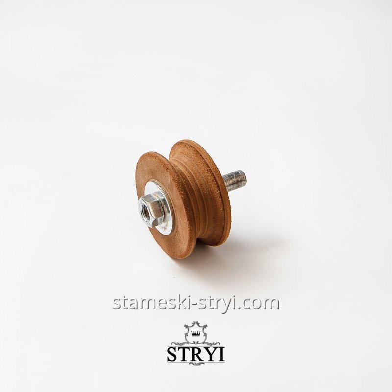 Кожаный круг для доводки и правки инструмента, 70 мм, арт.00072