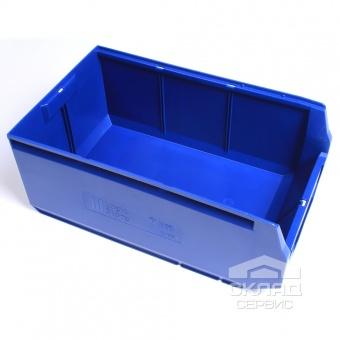 Купить Пластиковый лоток Logic Store 12.406.1 (500х300х200 мм) синий