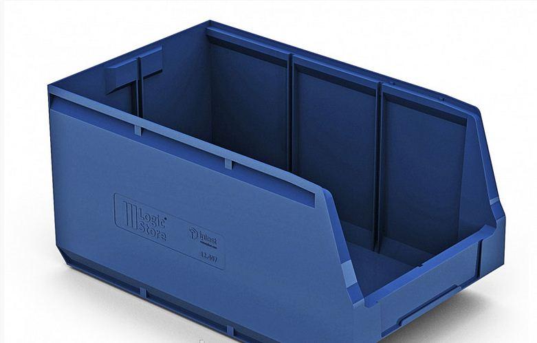 Купить Пластиковый складской лоток 500х300х250 мм