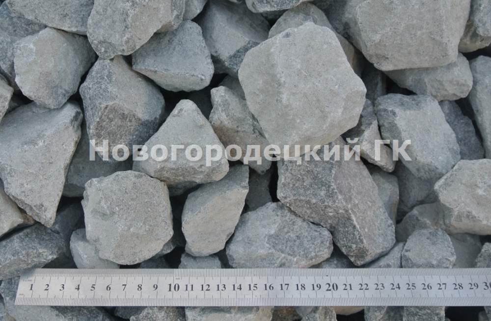 Купить Щебень гранитный фракции 40-70 Украина, Киев, Киевская область, Житомирская область. доставка, самовывоз.