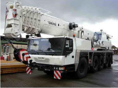 Mobile Grove cranes buy in Kiev