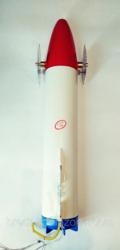 Купить Торпеда для установки сетей под лед (пластик)Триколор