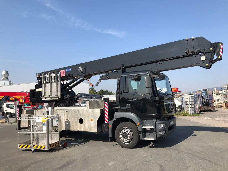 Автокран с платформой K31-35TSF - KLAAS на шасси MAN TGM15.290 Евро 5, 2012