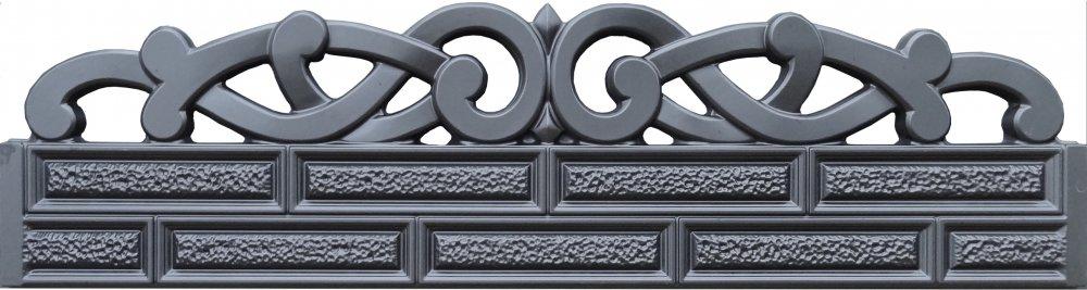 Купить Новые формы из АБС пластика для производства и изготовления бетонных заборов № 82 Будформа