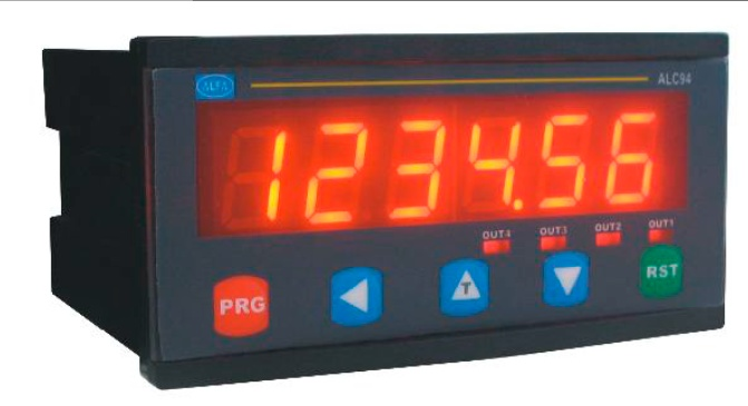 Купить 6 разрядный программируемый индикатор серии ALC94