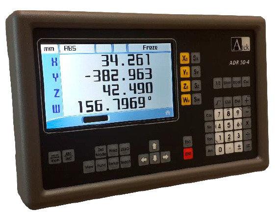 Купить Устройство цифровой индикации серии ADR 50 с цветным LCD дисплеем (на 2,3 или 4 оси)