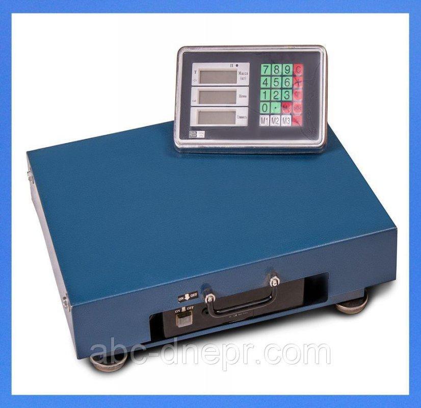 Купить Весы товарные беспроводные 100 кг 320х420 мм