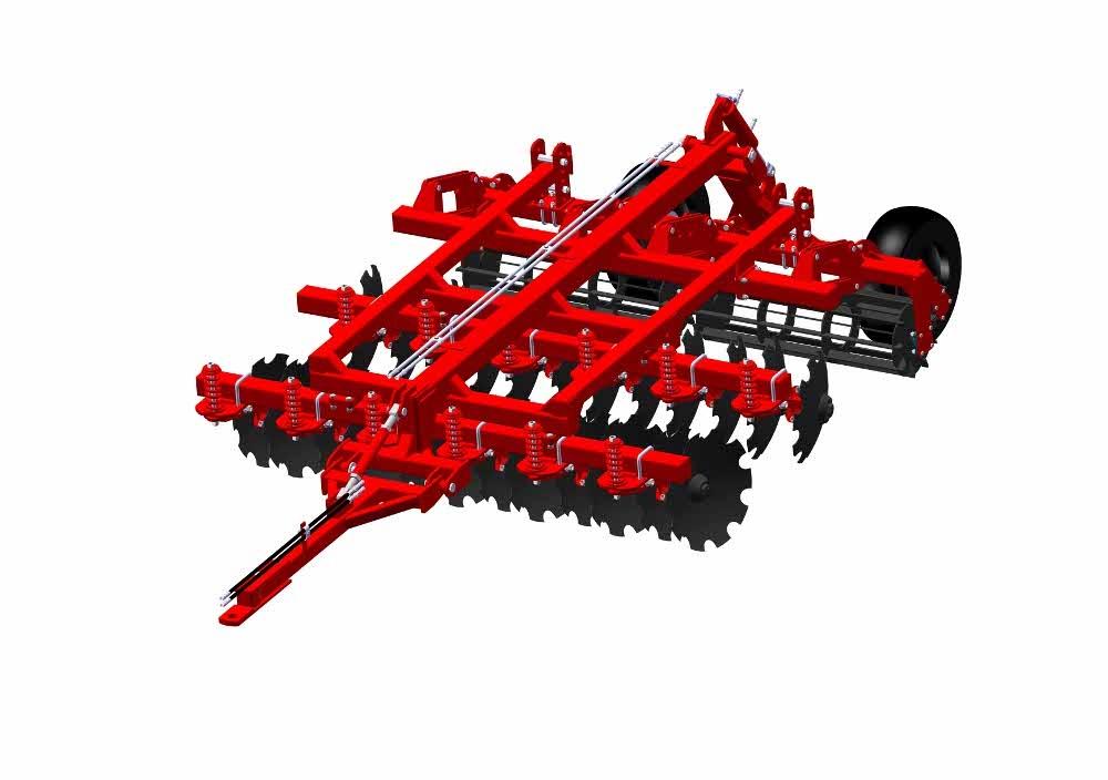 Купити Агрегат ґрунтообробний комбінований АГК-3.0, Призначений для основний і передпосівний обробок ґрунту під зернові й технічні культури, знищення бур'янів і здрібнювання толстостебельних рослинних залишків
