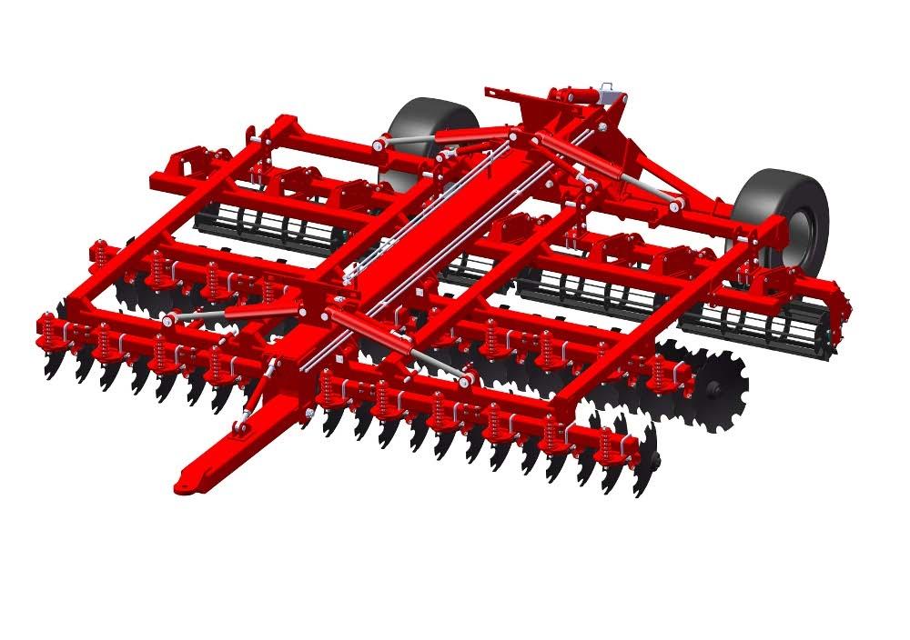 Агрегат почвообрабатывающий комбинированный АГК-5.4, Предназначен для основной и предпосевной обработок почвы под зерновые и технические культуры, уничтожения сорняков и измельчения толстостебельных растительных остатков.