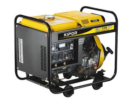 Купить Сварочный генератор Kipor KDE180EW (3 кВ, 1 фаза- электрод 1,6-4,0 мм)