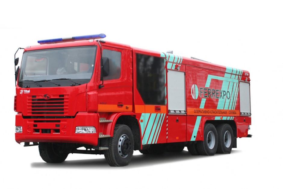 Купить Пожарная автоцистерна КрАЗ 6511Н4