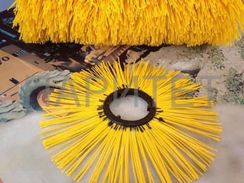Проставочные дисковые полипропиленовые щетки с пластиковым сердечником Paritet