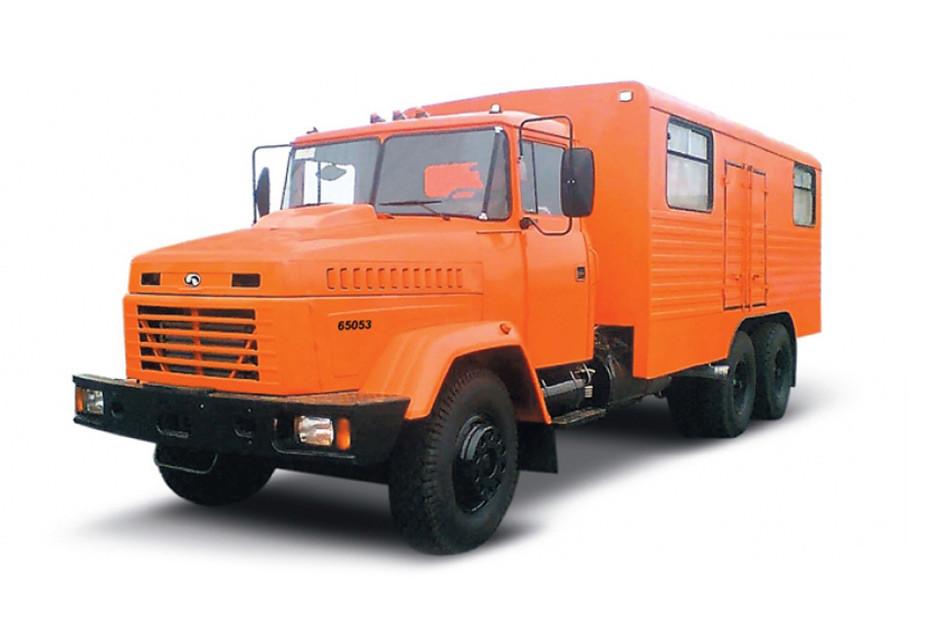 Купить Автомобиль-мастерская КрАЗ 65053