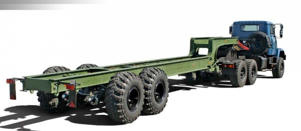 Купить Полуприцеп КрАЗ H251H2 для монтажа и транспортировки различных установок и инженерной техники