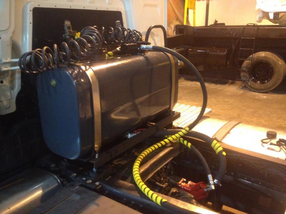 Купить Комплект гидравлики Aber (Европа) на тягач Renault, аналог гидравлики Hyva