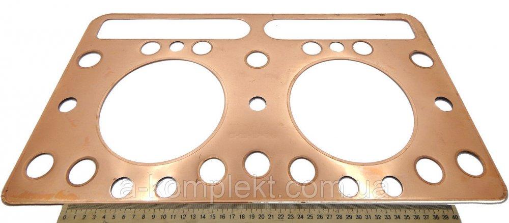Прокладка головки блока цилиндра (ГБЦ) ПД (Д-160,Т-130)(медная)