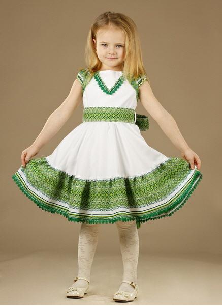 Вышиванка детская, Женское платье - вышиванка ЖП 21