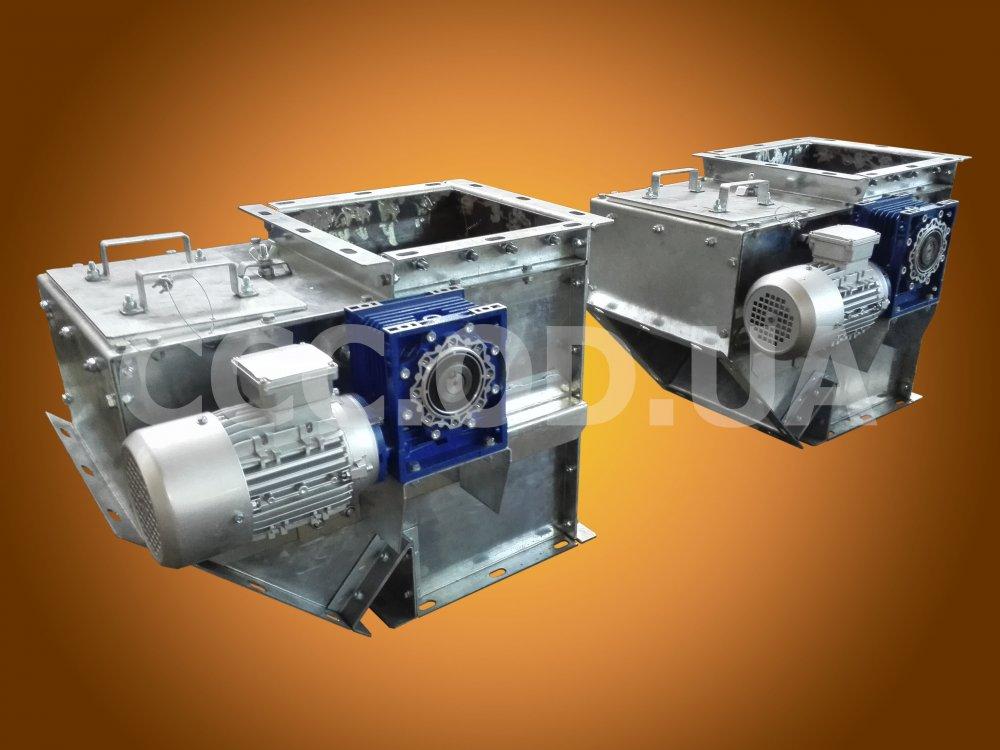 КОЭ-600, Клапан перекидной маятниковый односторонний электрический, сечение 600х600