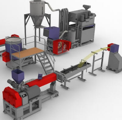 Buy Equipment for secondary processing of polymers