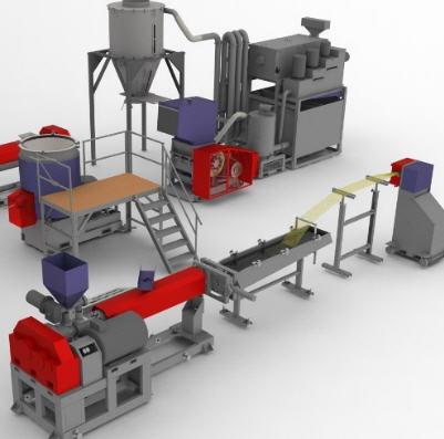 Купить Оборудование для вторичной переработки полимеров