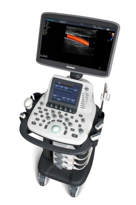 Стационарная цветная цифровая ультразвуковая диагностическая система  SonoScape S22