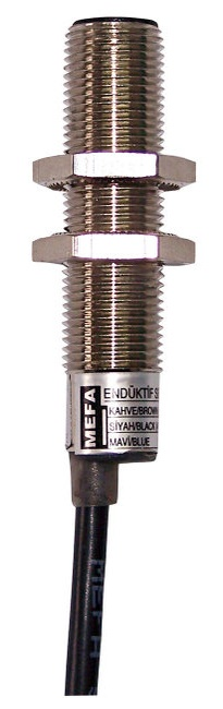 Купить Индуктивный датчик, металлический, 3/4-х проводная схема с размером корпуса M12x1